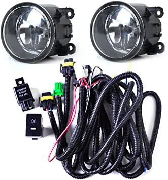 Amazon.com: Wiring Harness Sockets + Switch + 2 H11 Fog Lights Lamp for  Ford Focus Acura Nissan: AutomotiveAmazon.com