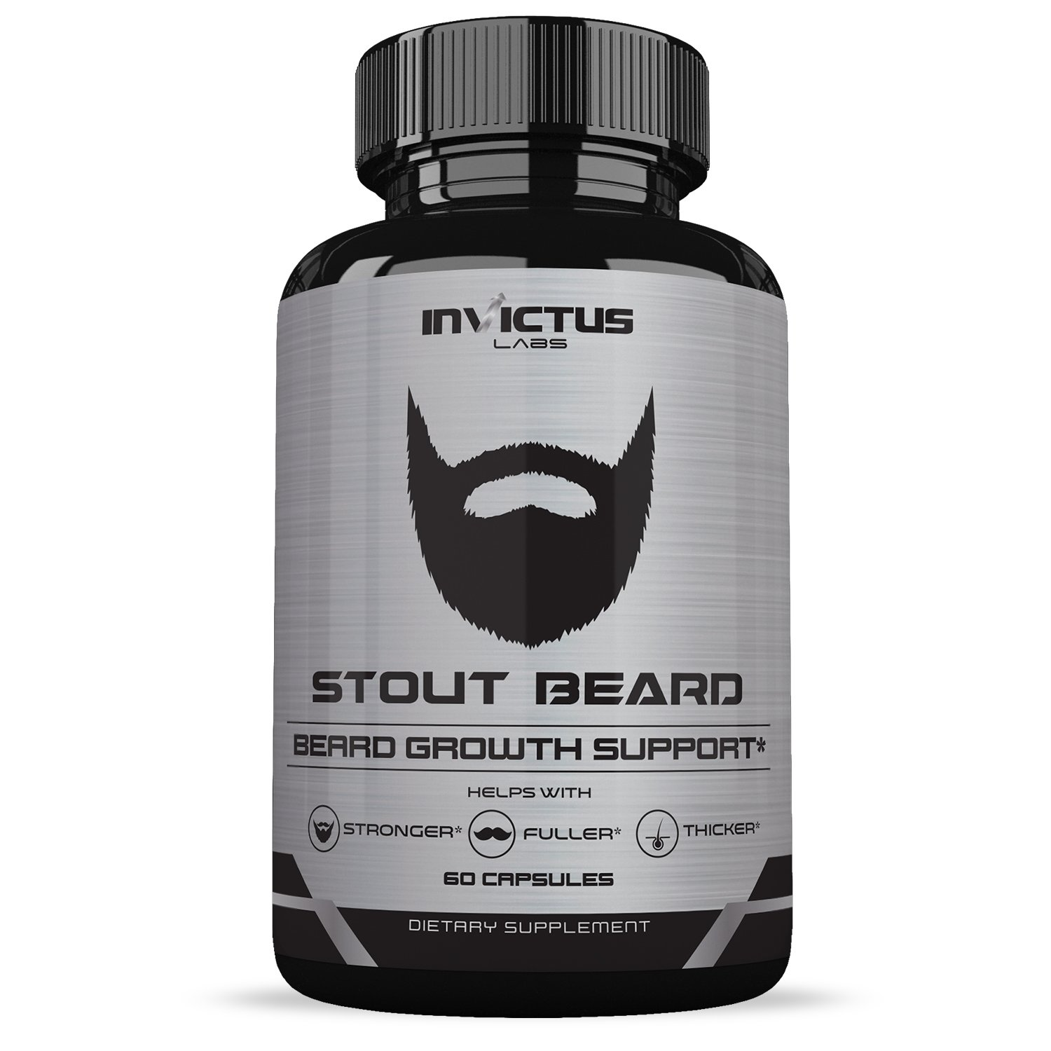 Amazon.com: Extra Strength Beard Growth Vitamin Supplement - Grows Facial Hair Fast - Thicker, Fuller Healthier Hair - Vitamins and Minerals for Naturally ...