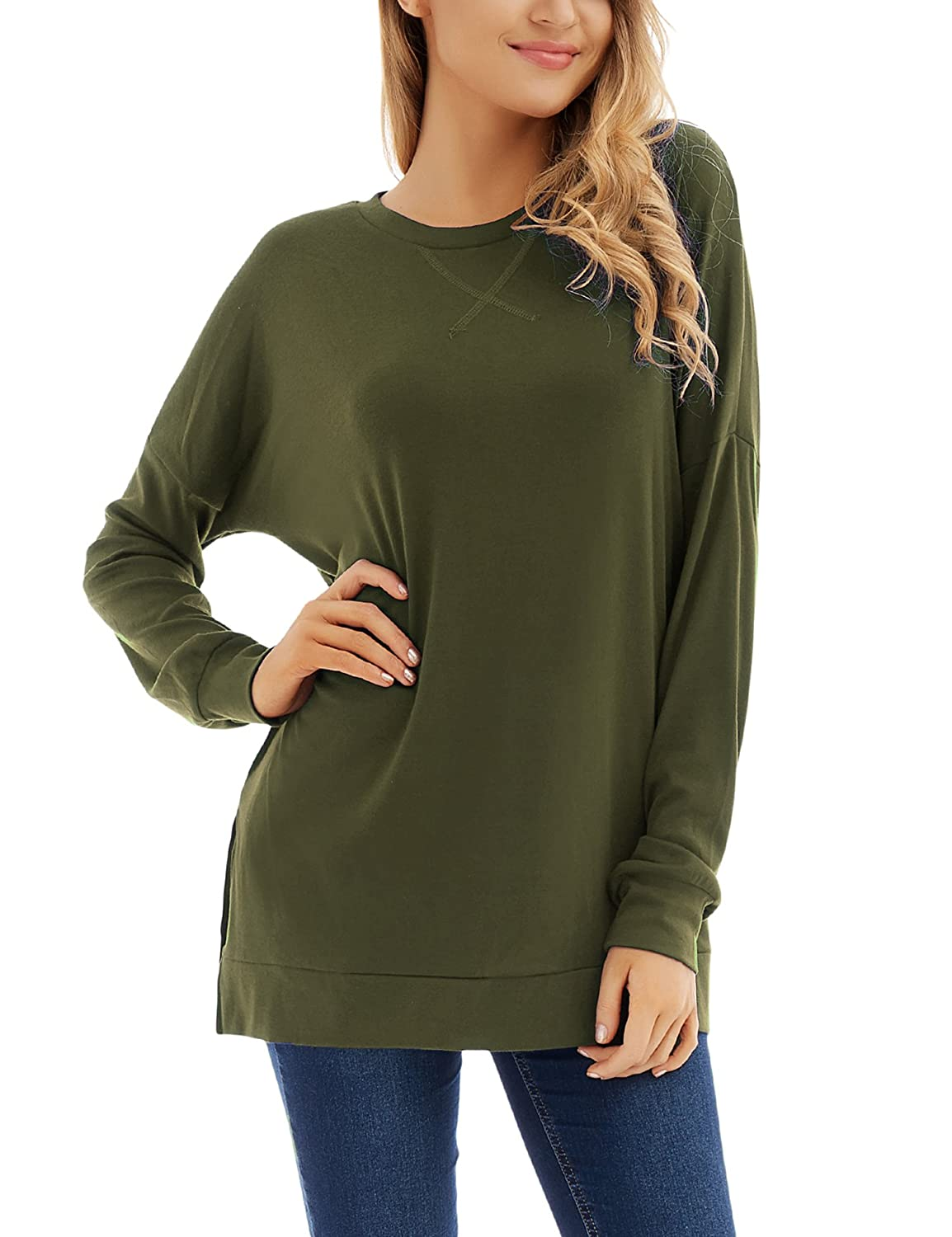 04cfd86fcddfa Top 10 wholesale Long Sleeve Side Split Tunic - Chinabrands.com