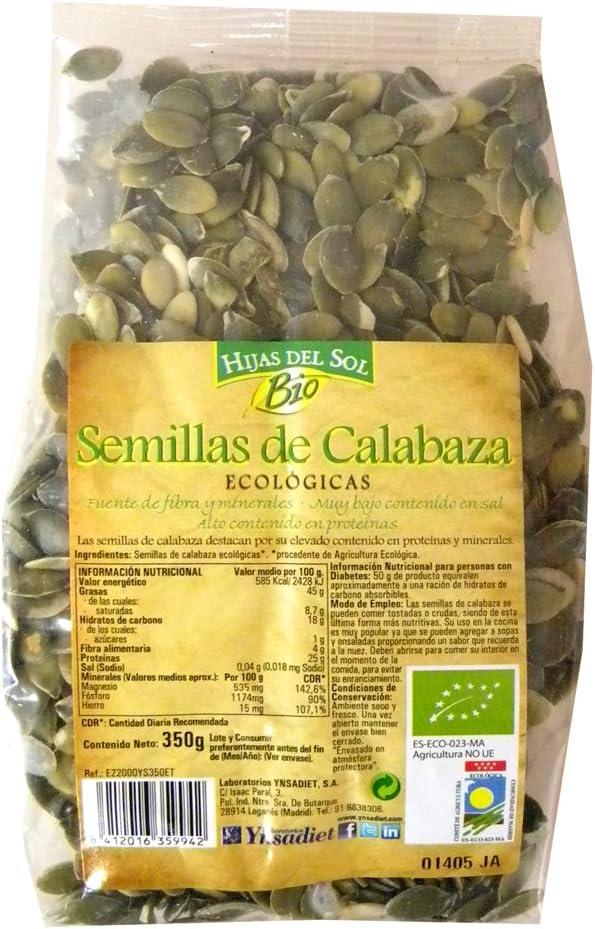 Hijas Del Sol Bio Semillas De Calabaza - 350 gr
