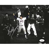$69 » New York Mets Keith Hernandez Moments after Winning the 1986 World Series Autographed 8x10 Photo picture