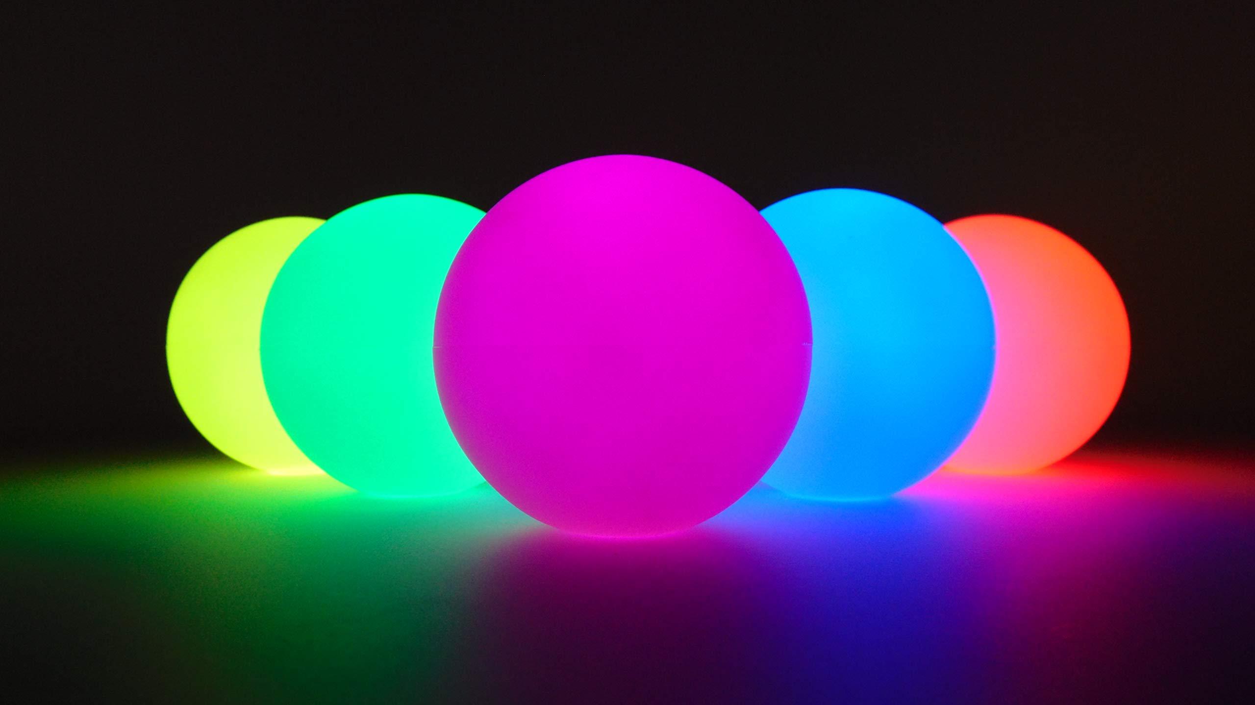 Higgins Brothers Luster LED Light-Up Juggling Balls (Multi-Color Strobe) by Higgins Brothers (Image #6)