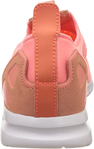 san francisco e7131 84f90 adidas - ZX Flux Adv Smooth Slip ON W - S75740 - Color Orange -. Back.  Double-tap to zoom