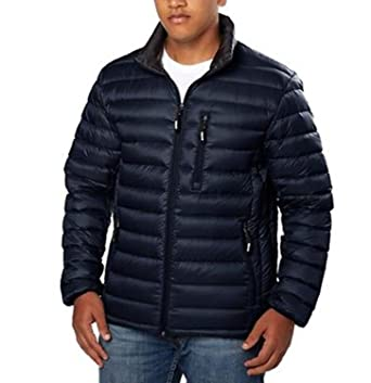 Marc New York By Andrew Marc Men's Packable Down Jacket (Medium ...