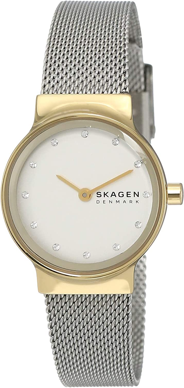 Skagen Freja Reloj de dos tonos de la mujer