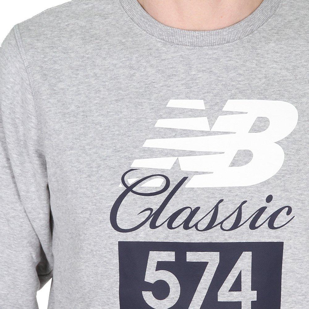 84bbf6f30aad3 Amazon.com: New Balance Men's Classic 574 Crew: Sports & Outdoors