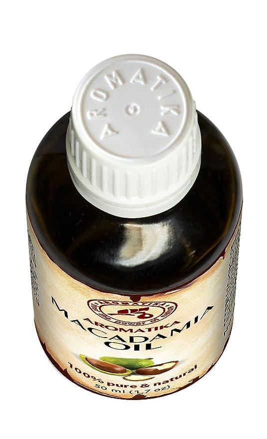 Aceite de Macadamia 50ml - Macadamia Integrifolia - Suráfrica - 100% Puro y Natural - Botella de Vidrio - Cuidado Intensivo para el Rostro - para Cuerpo ...