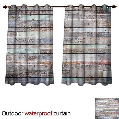 Marvelous Amazon Com Cobedecor Rustic Home Patio Outdoor Curtain Best Image Libraries Barepthycampuscom
