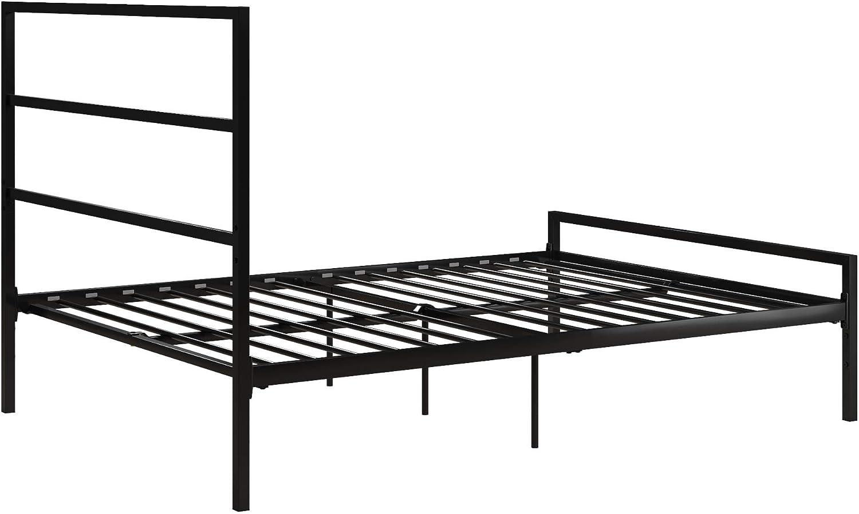 Blue Full DHP 4311629 Miles Metal Bed