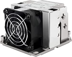 XE02-3647S SilverStone Technology - 2U Small Form Factor Server/Workstation CPU Cooler for Intel LGA 3647 Square sockets