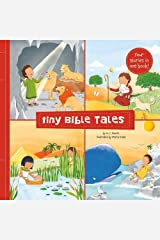 Tiny Bible Tales: Four Little STories of the Bible's Greatest Heroes Paperback