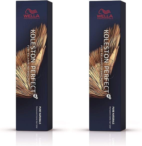 Wella Koleston Perfect Me+ KP Pure Naturals 88/0 - Pack de 2 unidades, color rubio claro claro intenso natural