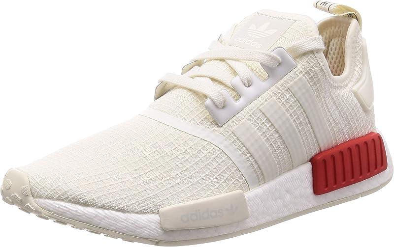 adidas NMD Sneakers Laufschuhe Herren Weiß/Rot