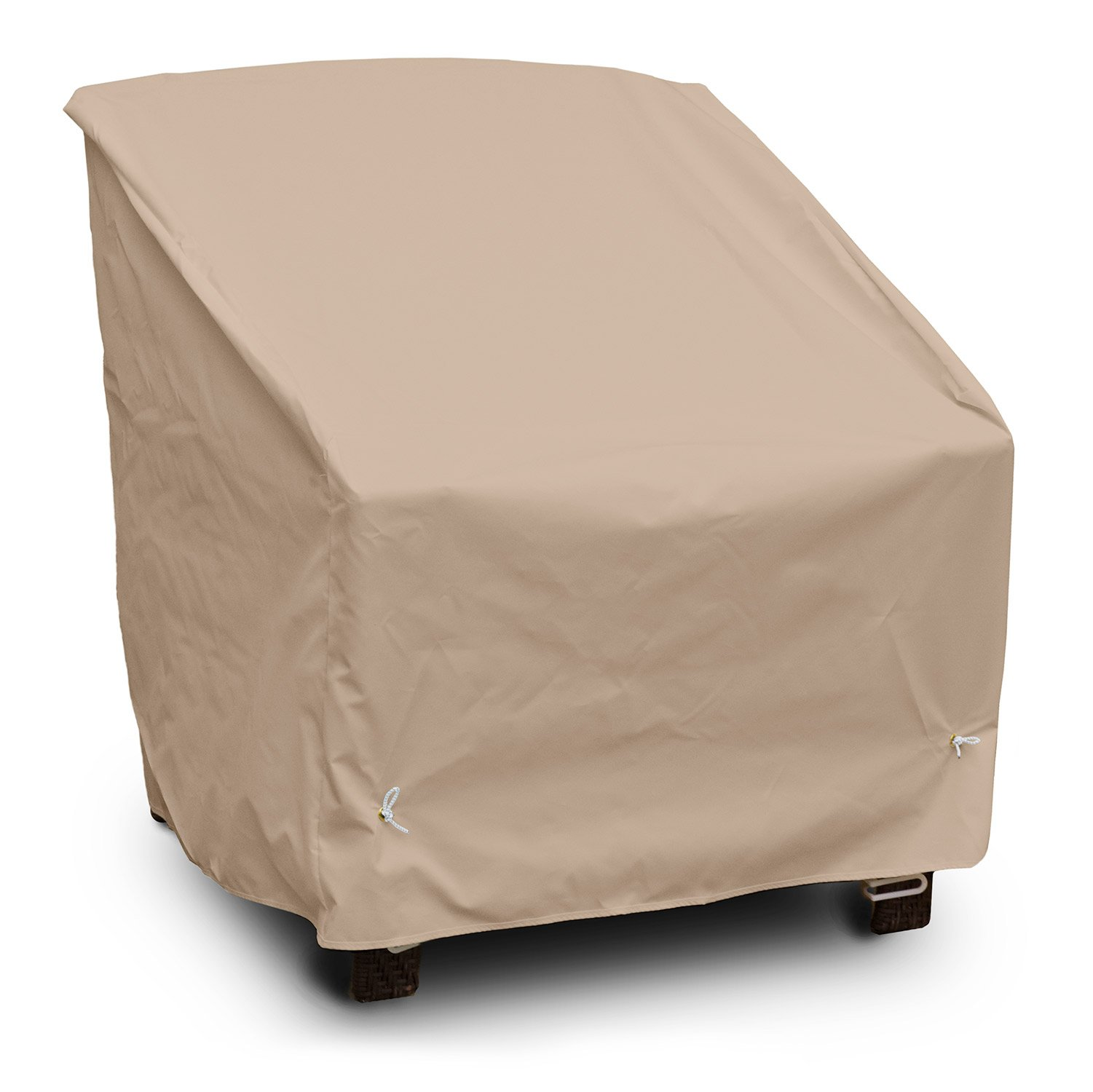 KoverRoos Weathermax 49522 Deep Seating High-Back Lounge Chair Cover, 39-Inch Width by 33-Inch Diameter by 38-Inch Height, Toast