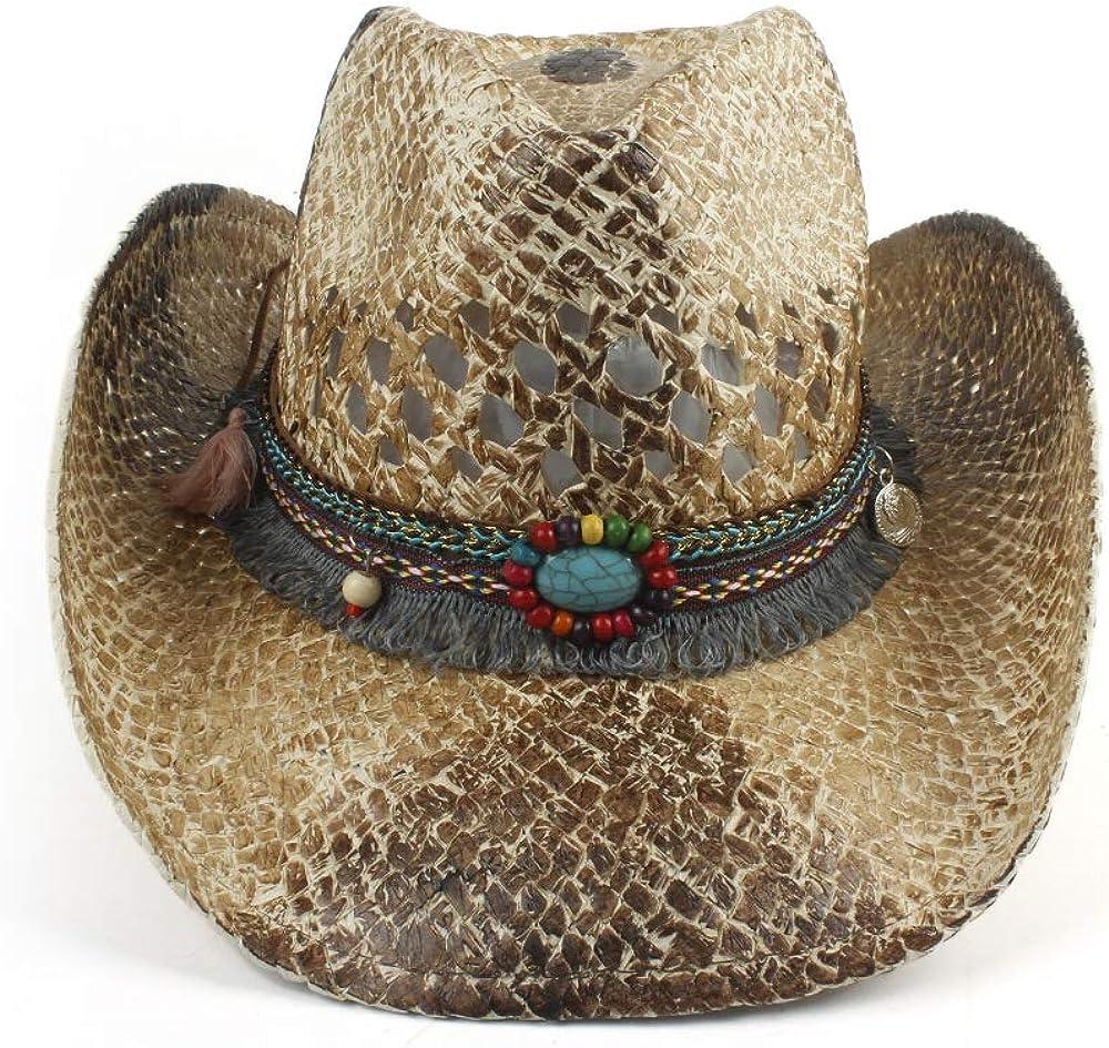 YUXUJ Jazz Hat Straw...