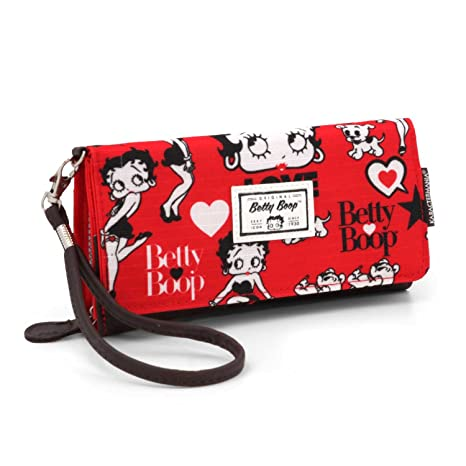 Karactermania 36401 Betty Boop Rouge Monederos, 20 cm, Rojo