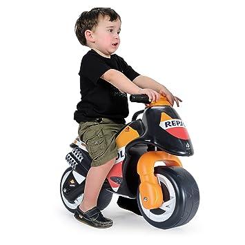 INJUSA - Moto correpasillos Neox Repsol para niños de 18 meses con decoración permanente IML y