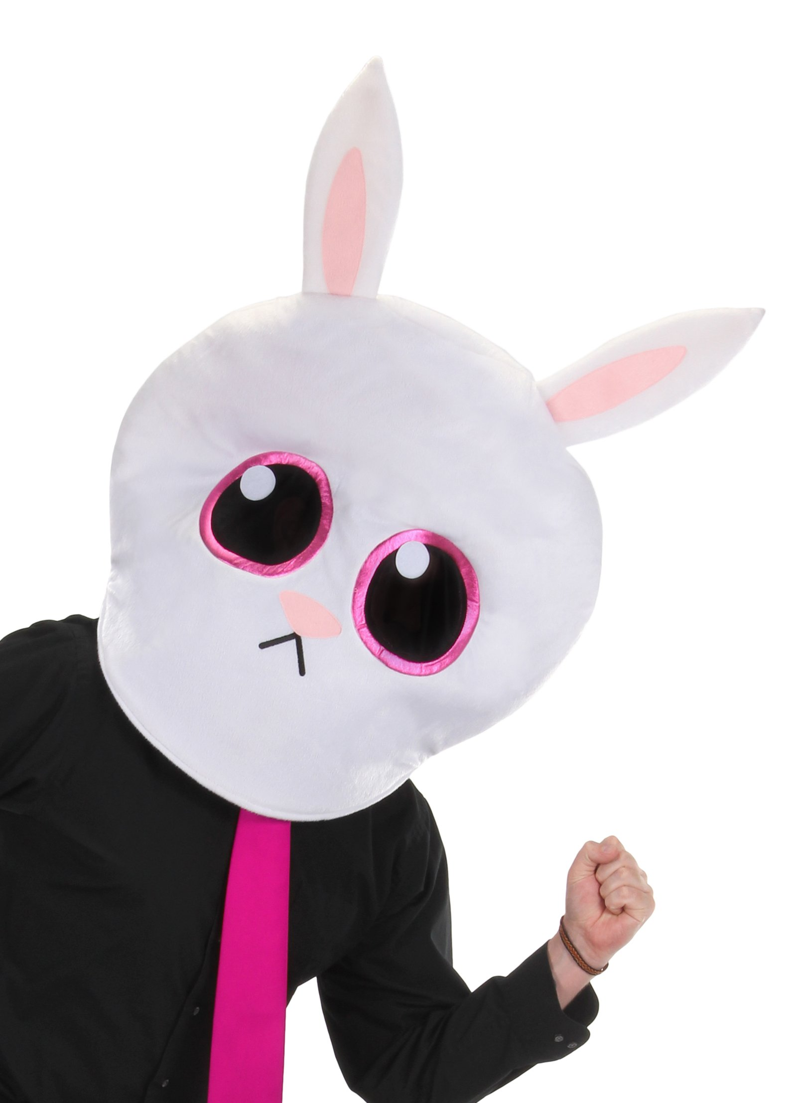 Bunny MASKot Head - Rabbit Mascot Mask - by elope