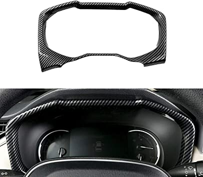 Rifoda for 2019 2020 2021 Toyota RAV4 ABS Carbon Fiber Accessories Door Panel Armrest Cover and Glass Lifting Switch Panel Trims and Door Switch Panel Decorations Carbon Fiber