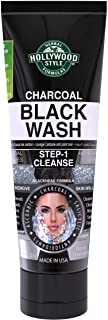 product image for Hollywood Style Activated Charcoal Black Wash Helps Remove Acne and Blackheads, 3.2 fl. Oz.