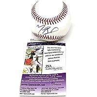 $125 » Mookie Betts Los Angeles Dodgers Signed Autograph MLB Baseball JSA Certified