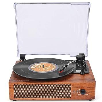 Amazon.com: Reproductor de grabación, tocadiscos ...