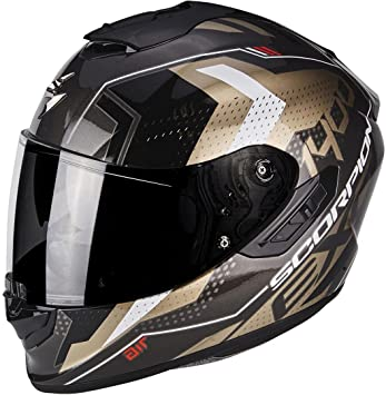 Scorpion 14 – 258 – 61 – 07 Casco Moto exo-1400 Air TRIKA,