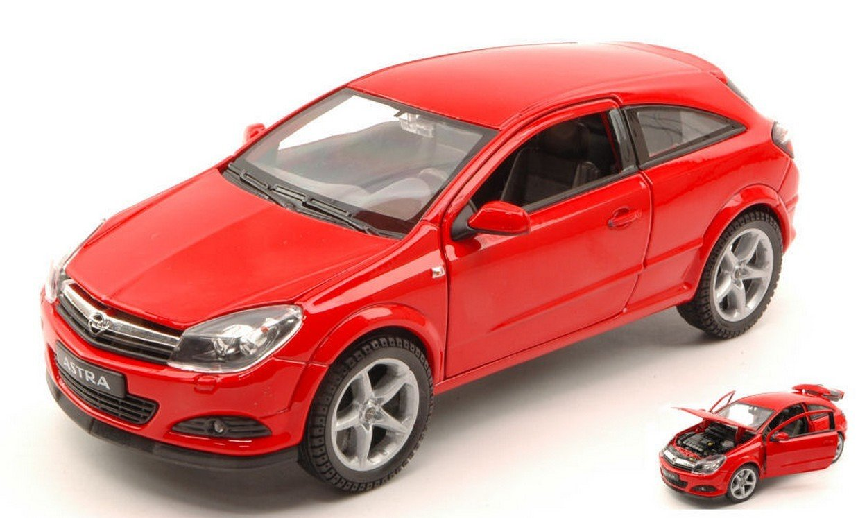 WELLY WE2563R OPEL ASTRA GTC 2005 RED 1:18 MODELLINO DIE CAST MODEL: Amazon.es: Juguetes y juegos