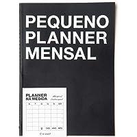 Planner Revista Clássica Mensal A5, Cicero, 6030, Preto, 5, 8 X 8, 3