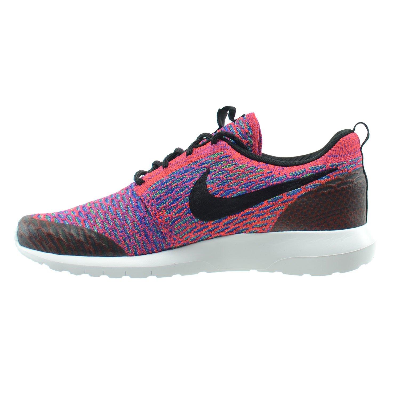Amazon.com | Nike Roshe NM Flyknit SE Men's Shoes Bright  Crimson/Black/Green Strike/Game Royal 816531-600 (10 D(M) US) | Shoes