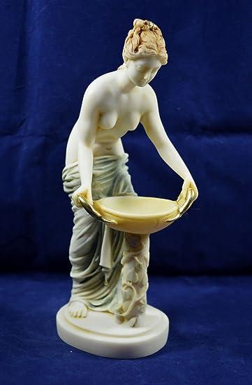 Hestia Estatua antigua diosa griega de la familia y el estado ...