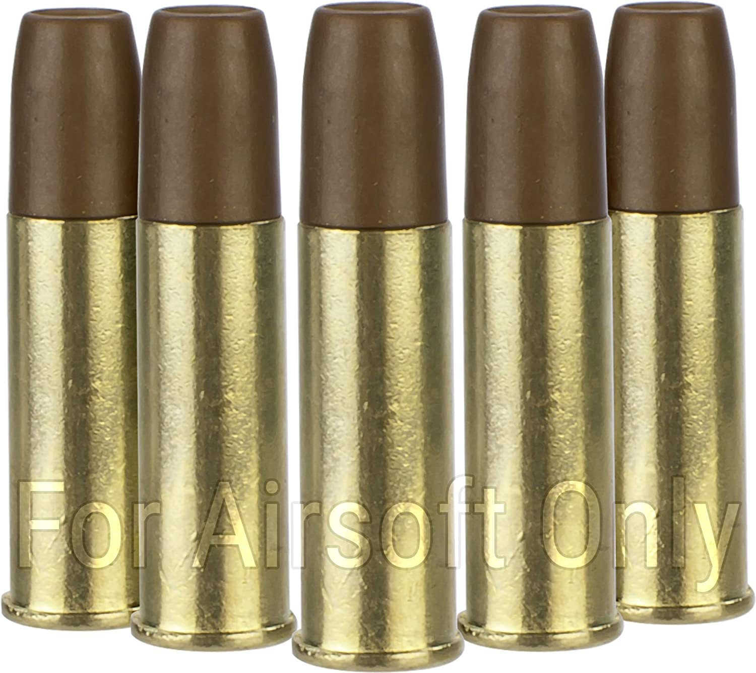 Six Spare Shells for ASG Schofield Revolver