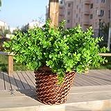 Gogogo 1X Artificial Fake Green Plant Eucalyptus Yard Home Planter D¨¦cor Outdoor Decoration