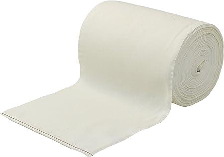 1 Rollo de 50 m Gastronomía Toalla para rollo blanco 100% algodón: Amazon.es: Hogar