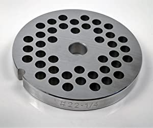 Food Service Knives #22 Meat Grinder Plate (1/4 in.)