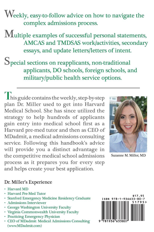 The Medical School Admissions Guide A Harvard Mds Week By Week