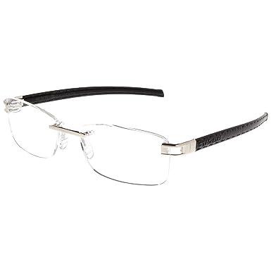 14056c91c78c3 TAG Heuer - Montures de lunettes - Homme Noir Noir  Amazon.fr ...