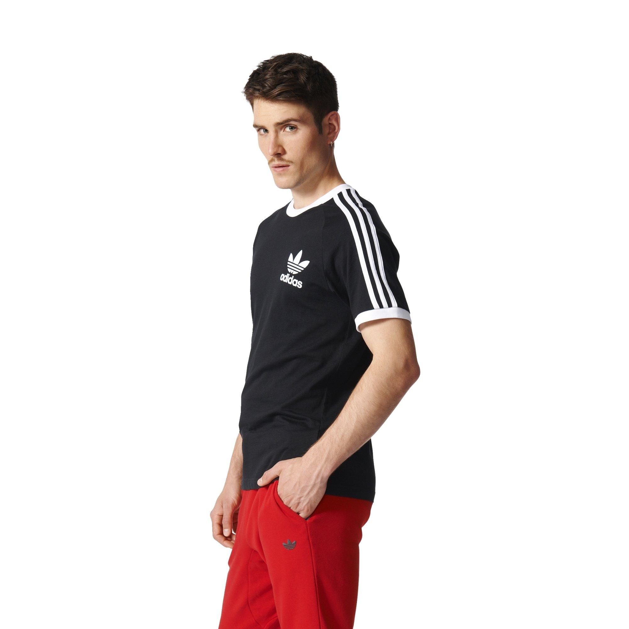 c262591d Adidas Men's Tops California Tee, Black, Small. by adidas Originals
