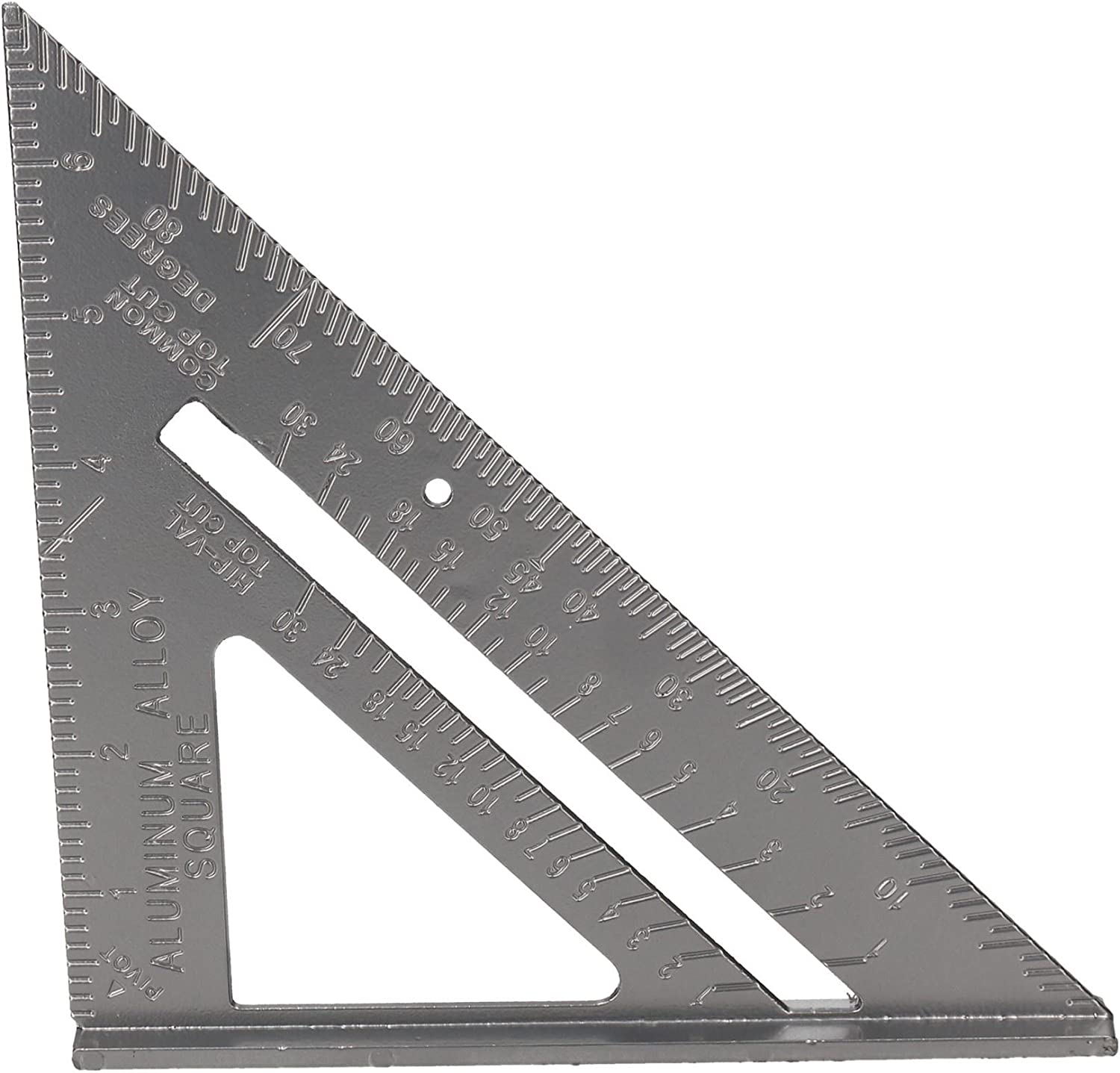6 Aluminium Speed Square Measuring Rafter Roofing Triangle Joinery Guide