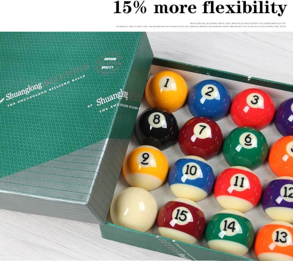 WXS 16 Suministros Color A Rayas Billar Bola De Piscina Unisex 52 ...