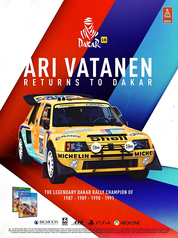 Dakar 18 - Xbox One [Importación inglesa]: Amazon.es: Videojuegos
