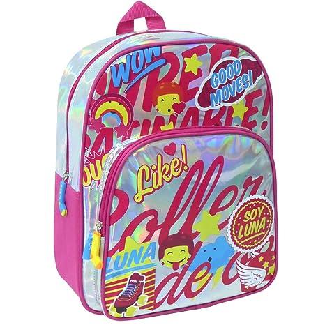 Soy Luna Mochila Juvenil con Varios Compartimentos Toy Bags 009