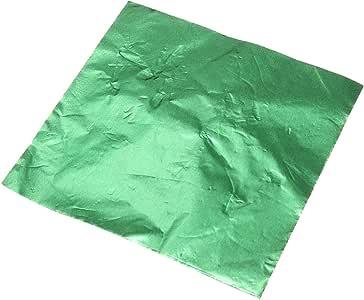 TOOGOO 100pcs de Papel de Envolturas de aluminio para