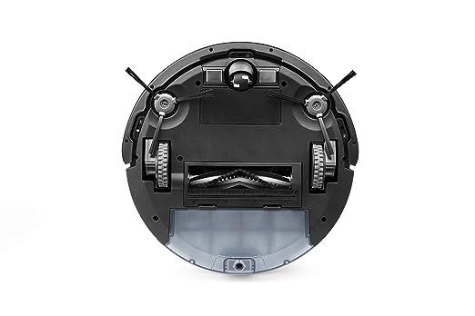 ECOVACS DEEBOT 601 - Robot aspirador con limpieza sistemática y App, poder de succión MÁX, Adecuado para suelos duros y alfombras, negro: Amazon.es: Hogar