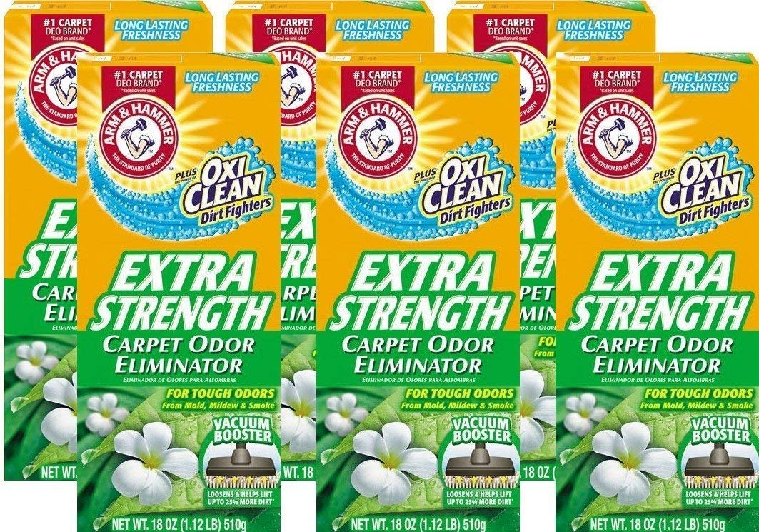 Arm & Hammer Extra Strength Carpet Cleaners, 108 Ounce (2-Pack/ 12 Total)
