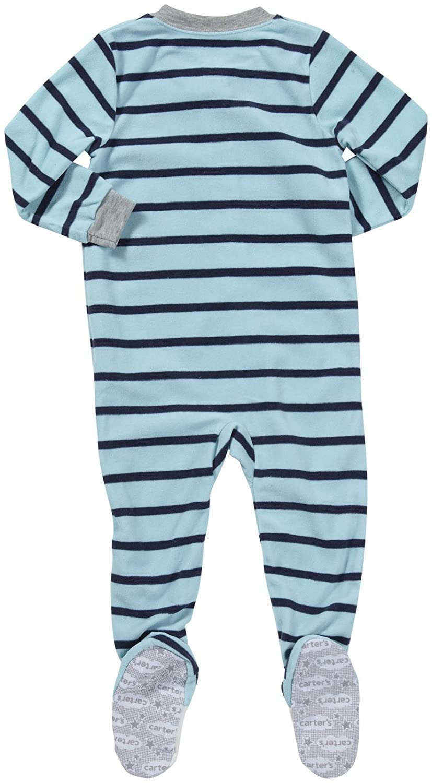 Amazon.com: Carters Boys Footed 1 Piece Fleece Sleeper Pajamas: Infant And Toddler Pajama Sets: Clothing