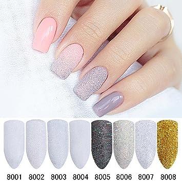Amazon Nicole Diary 8 Boxes Holo Nail Glitter Gradient