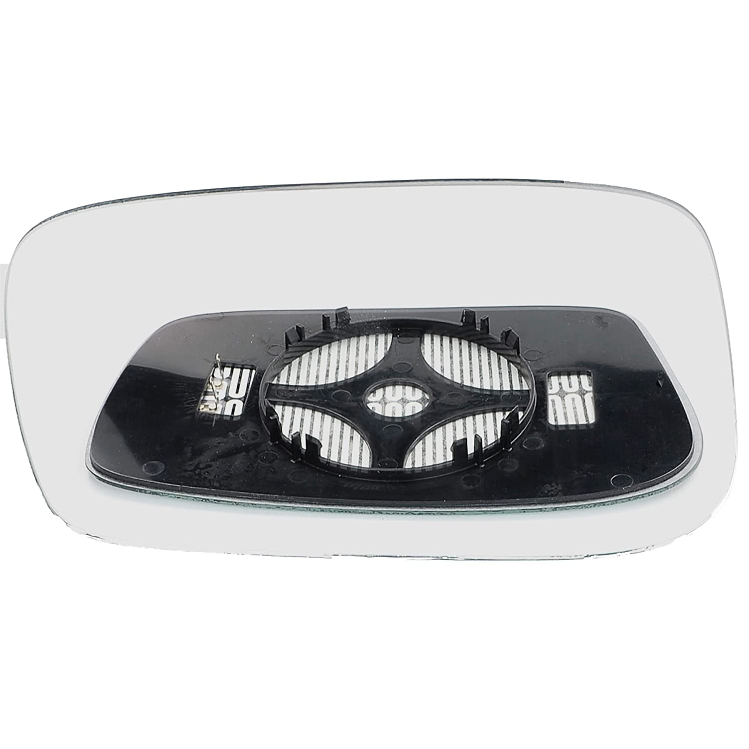 Passenger left hand side Heated wing door Silver mirror glass with backing plate #C-SHY//L-PT80702