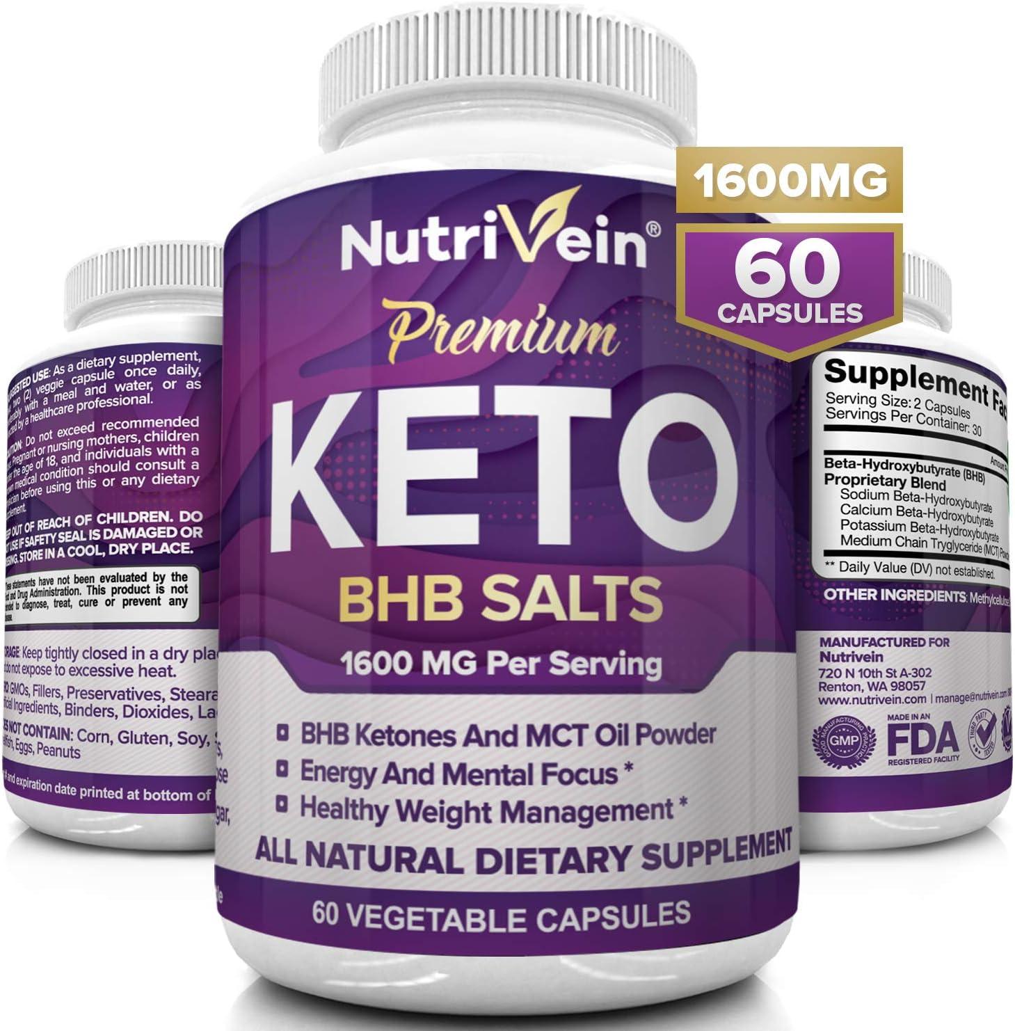 keto diet vegetarian supplements