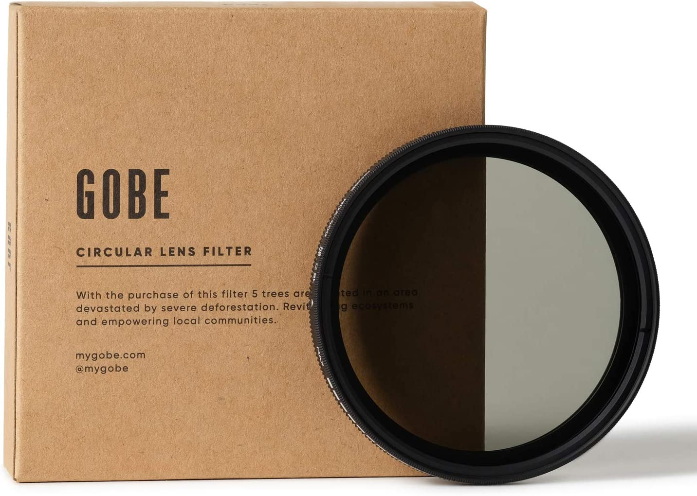 Gobe Filtre ND Variable NDX pour Objectif 58 mm (1Peak)